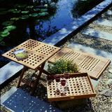 Teak & Garden ATLANTIC BOAT bijzettafel _