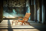 Traditional Teak ALEXANDRA deckchair_