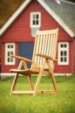 Traditional Teak ALEXIA recliner / verstelbare stoel_