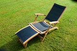 Traditional Teak KATE deckchair _