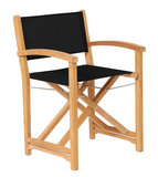 Traditional Teak KATE director chair _