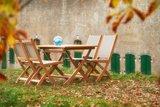Traditional Teak KATE folding chair _