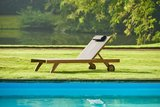 Traditional Teak KATE lounger _