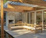 Traditional Teak MAXIMA lounge center piece _