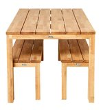 Traditional Teak MORITZ MOSIAC table _