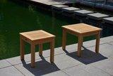 Traditional Teak SISI square table _