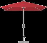 Glatz Alu-twist Easy Parasol 210 x 150 cm (162 Chili)_