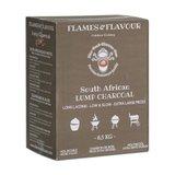 Flames & Flavour Zuid-Afrikaanse Black Wattle Houtskool 8,5KG_