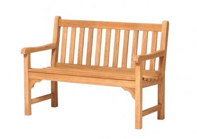 Traditional Teak ANNA bench 120 cm.