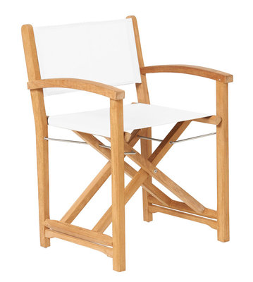 Traditional Teak KATE director chair