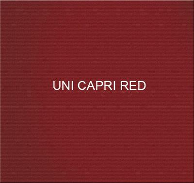 Stof Uni Capri Red