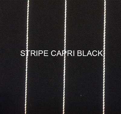 Stof Stripe Capri black