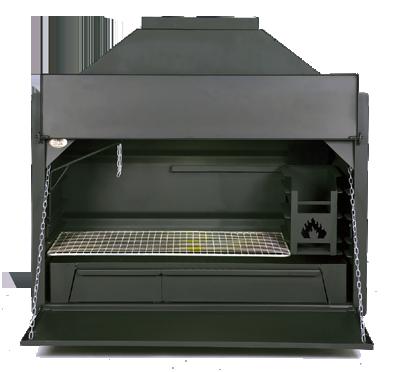 HomeFires Braai - Supréme de Luxe 800 (inbouw)