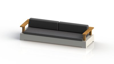 """FixForm """"Roy"""" Lounge Left and Right Arm Module - Large"""