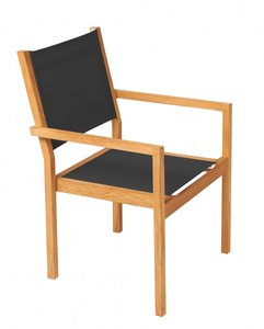 Traditional Teak KATE stacking chair