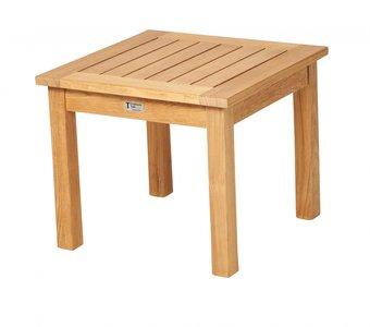 Traditional Teak SISI square table