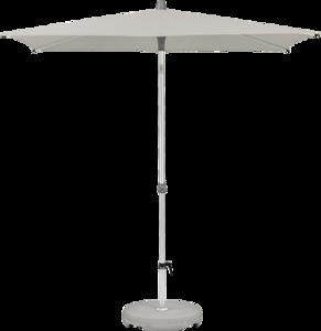 Glatz Alu-smart Easy Parasol 250 x 200 cm (151 Ash)