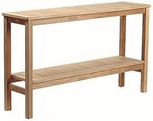 Teak & Garden Wallington Wall Table